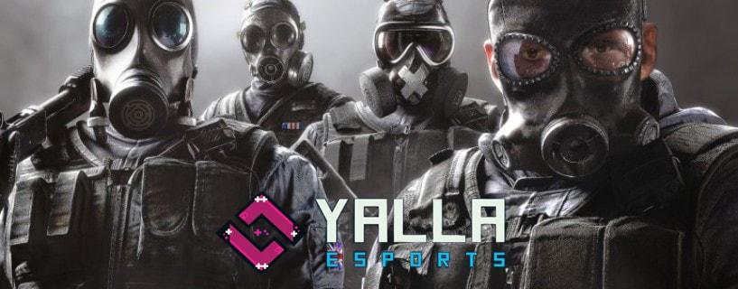 Photo of فريق YaLLa Esports يضم ستة من أفضل محترفي لعبة Rainbow Six: Siege العرب إلى طاقمه