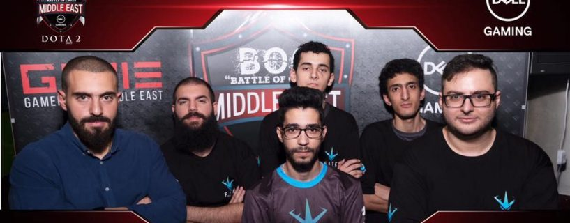 Flawless performance from Team FATE in DOTA 2 Gamers Hub Middle East finals