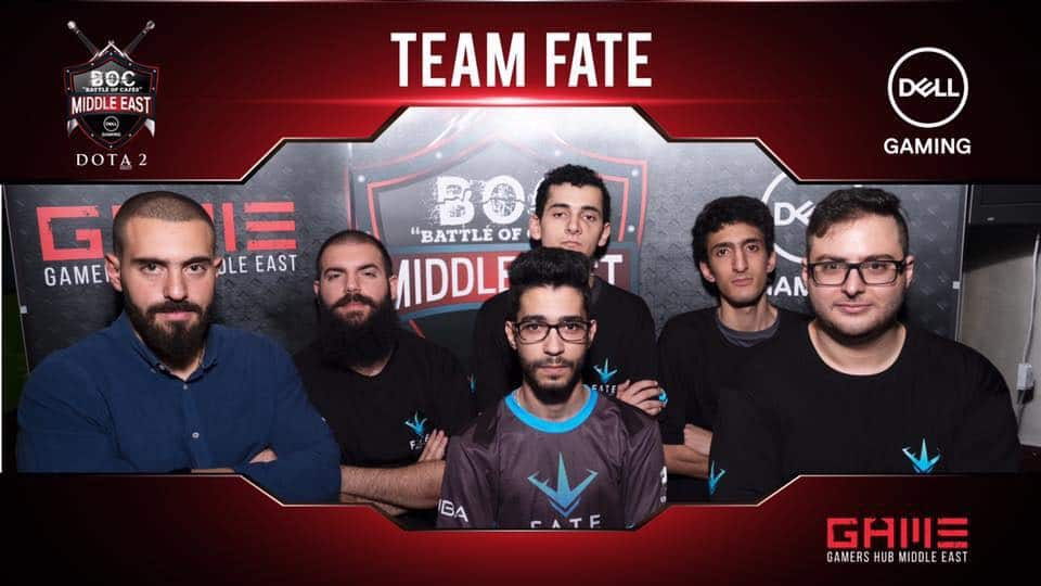 DOTA 2 Team FATE gamers hub