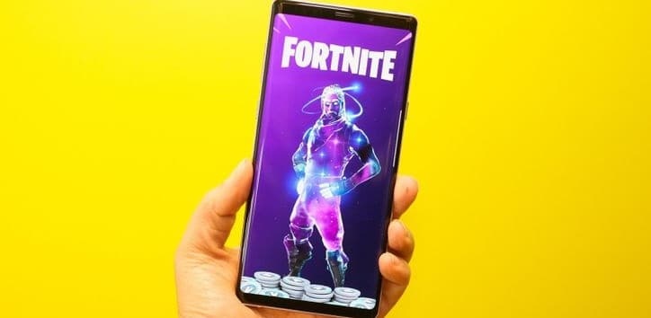 samsung-galaxy-note-9 fortnite android