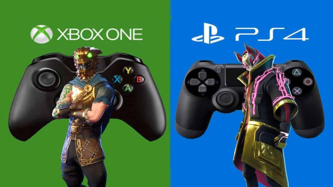Fortnite ps4 xbox one crossplay switch
