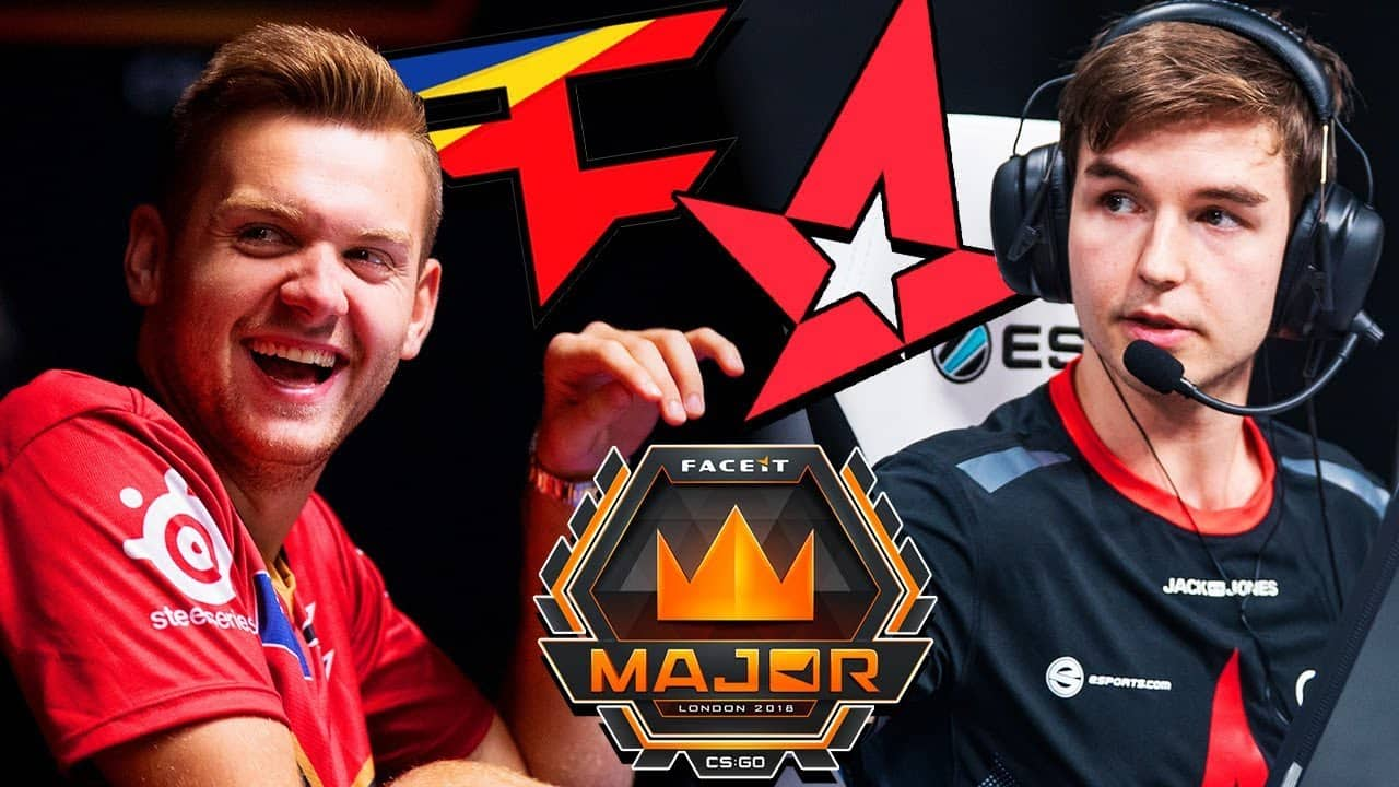 faceit major london astralis faze clan