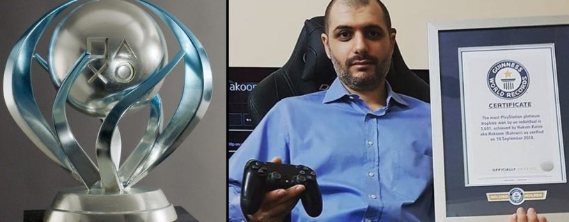 Bahraini man enters Guinness World Records thanks to his PlayStation!