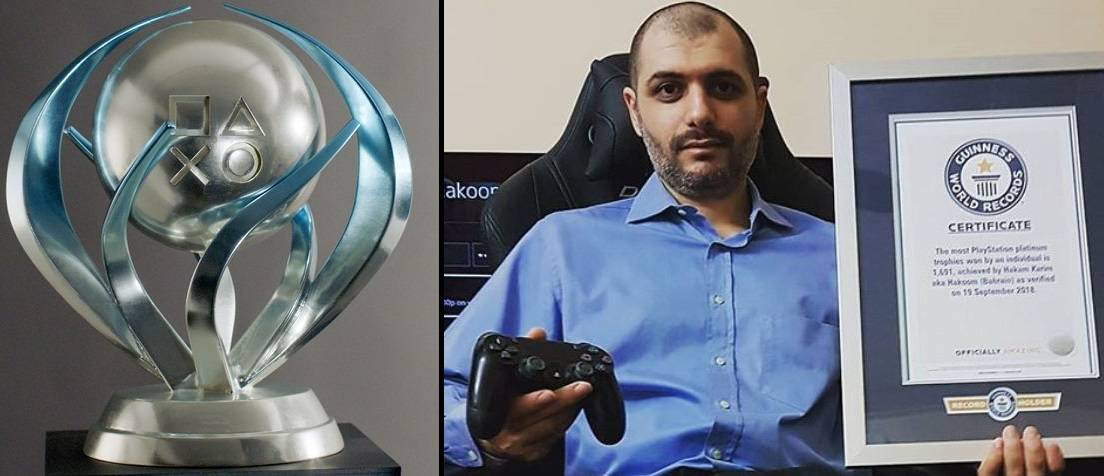 Photo of Bahraini man enters Guinness World Records thanks to his PlayStation!