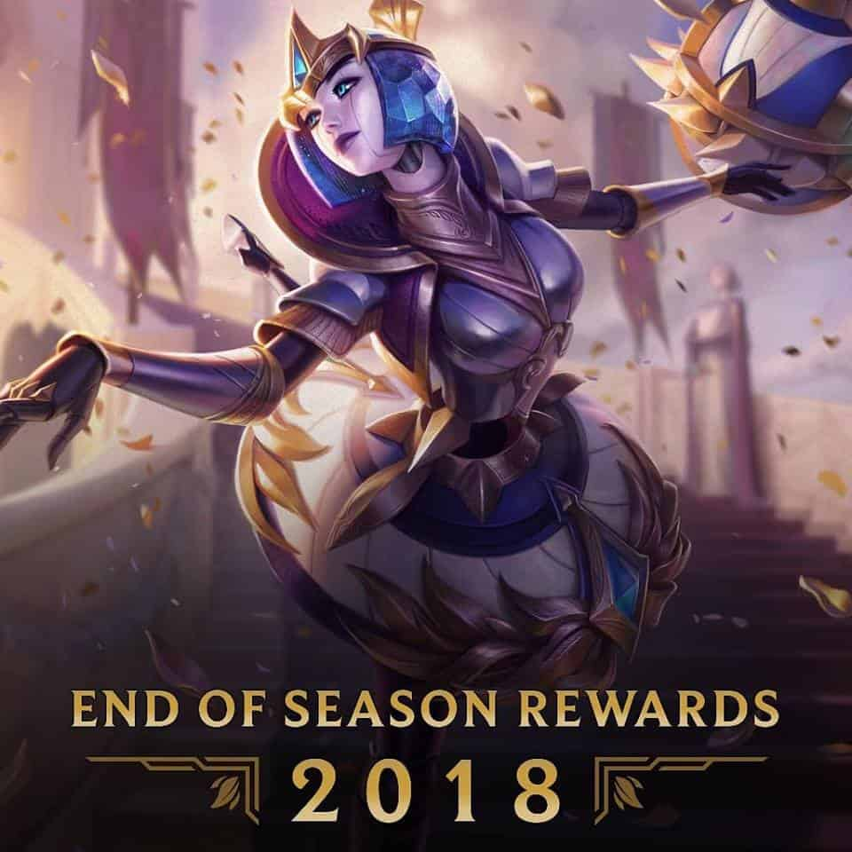 Riot unveil the Victorious skin and more rewards for the end