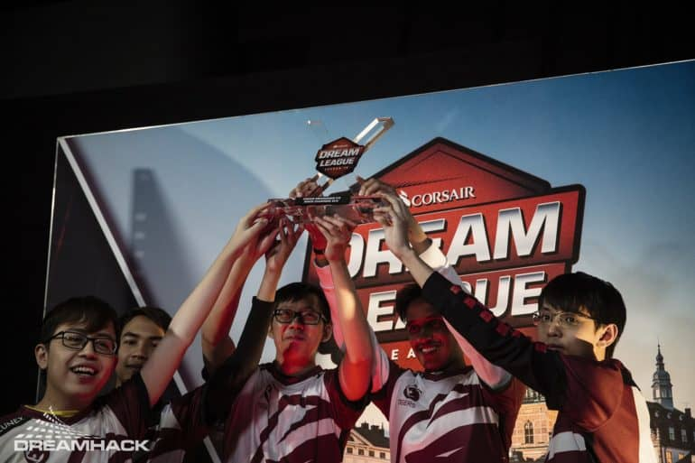 Photo of The Asian team Tigers are the Champions of DOTA 2 Corsair DreamLeague season 10