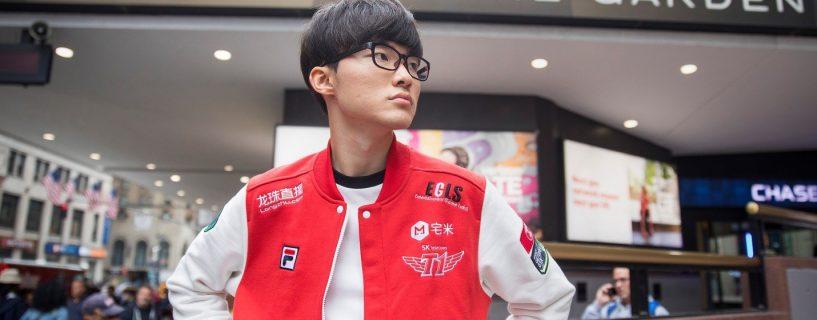 عودة Faker إلى مسيرته الاحترافية للعبة League of Legends في كوريا الجنوبية بعد أنباء أقلقت معجبيه