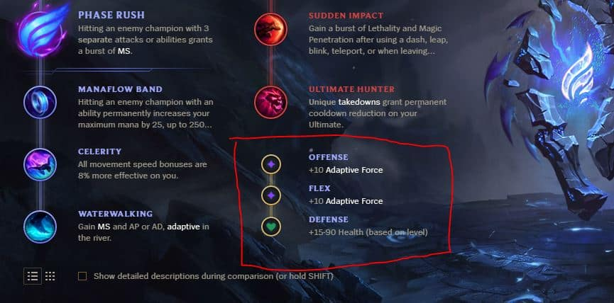 A full guide of new Runes System in League of Legends for 2019