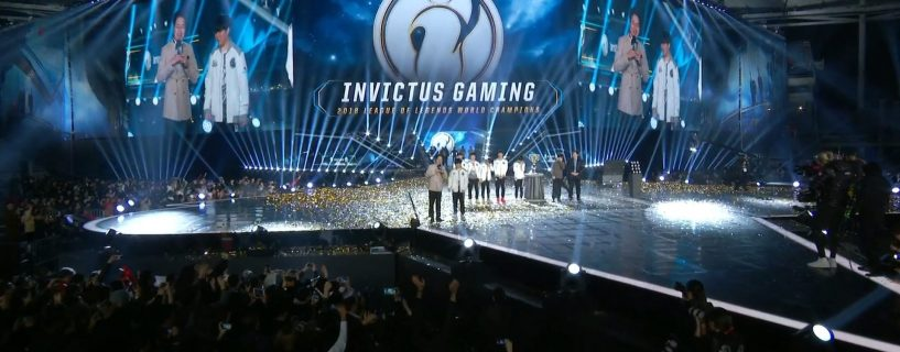 The Chinese team Invictus Gaming are the League of Legends World Champions 2018