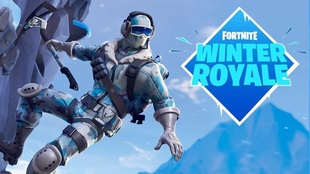 fortnite winter royale eu winner skit