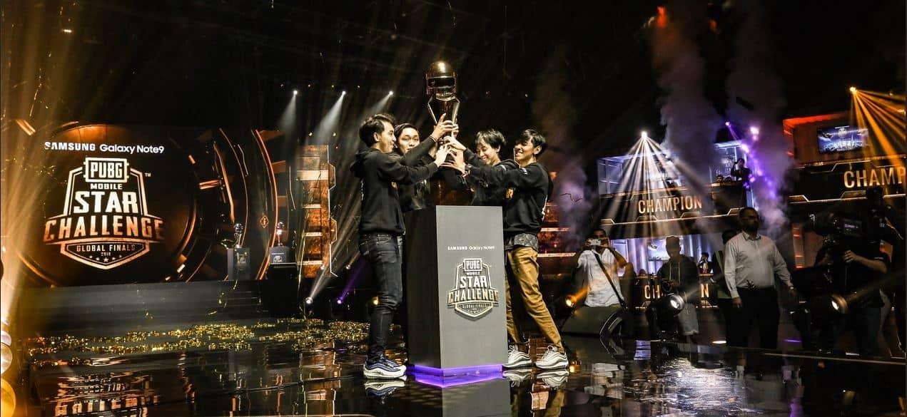 pubg mobile star challenge 2018 winner rrq athena
