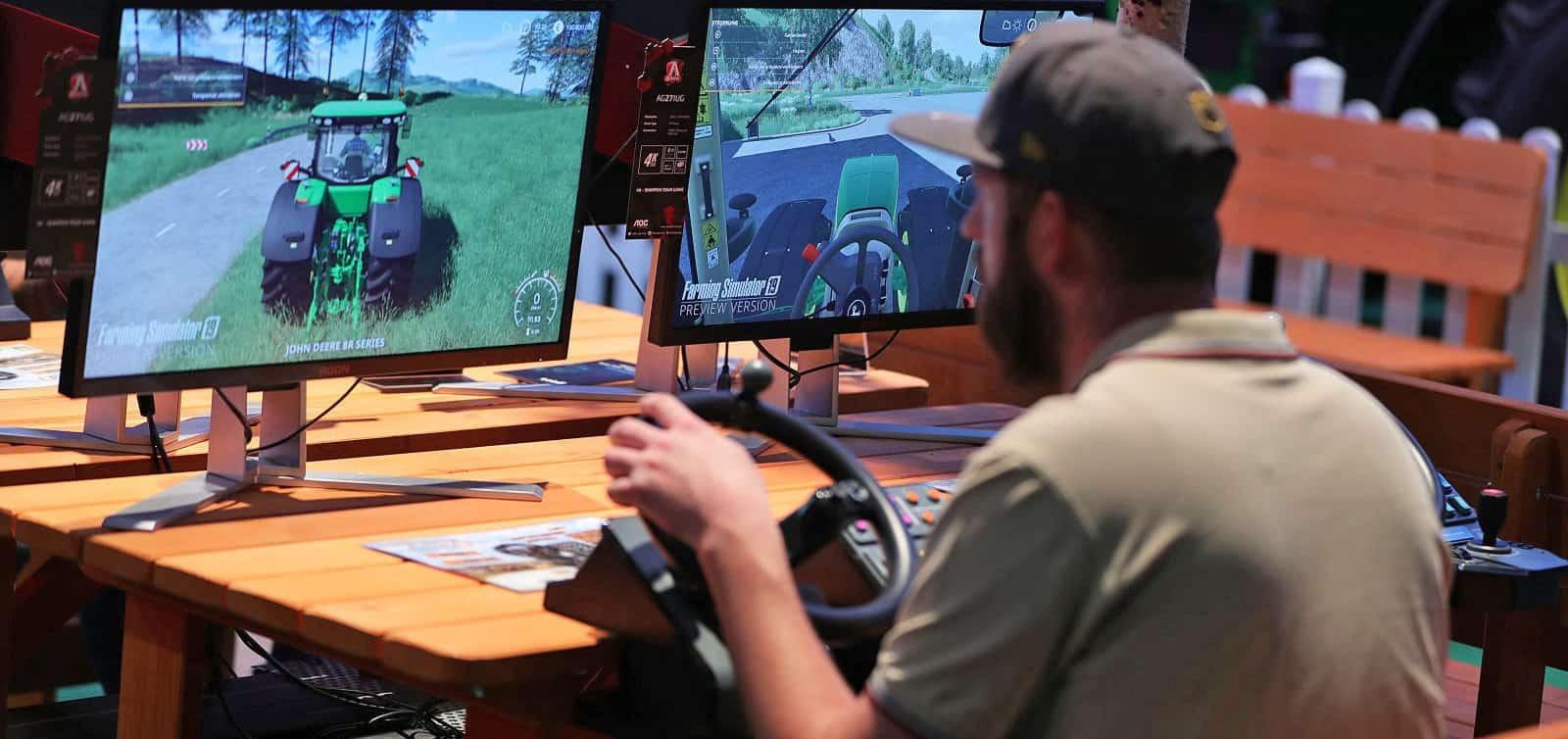 بطولة الزراعة في الرياضة الإلكترونية Farming Simulator league