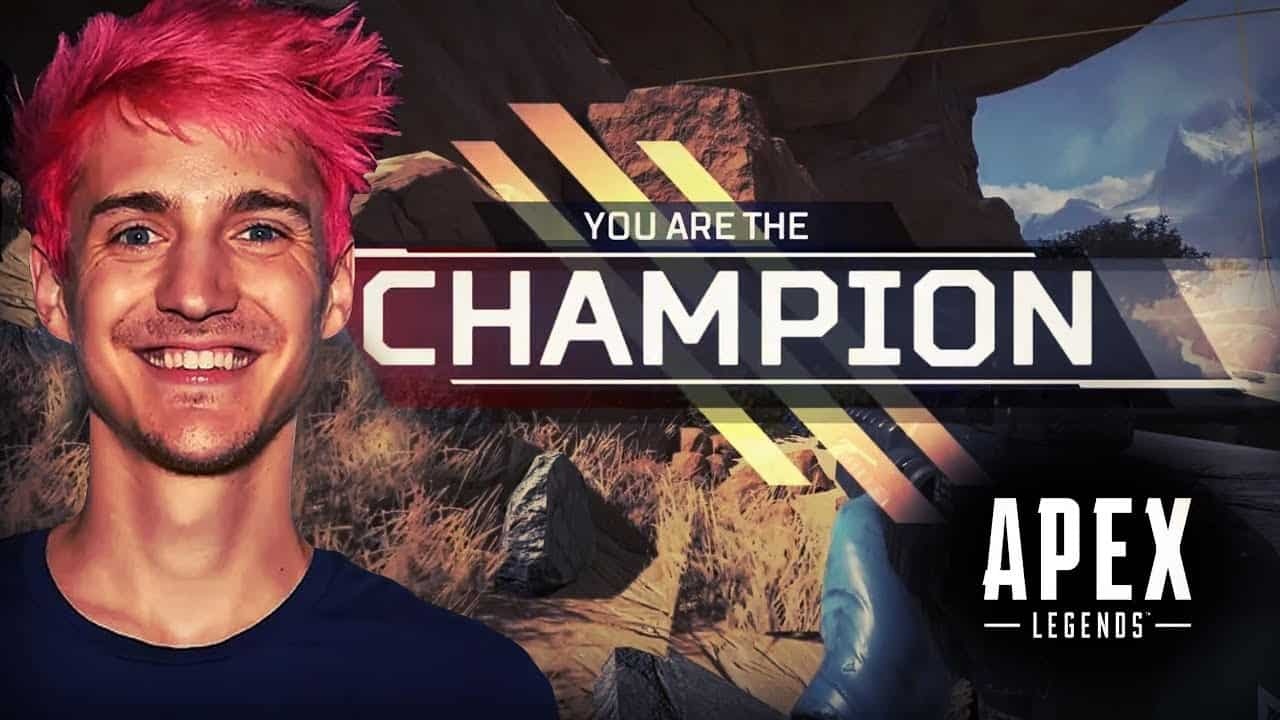 بطولة أبيكس ليجندز تويتش Ninja apex legends challenge twitch rivals winner