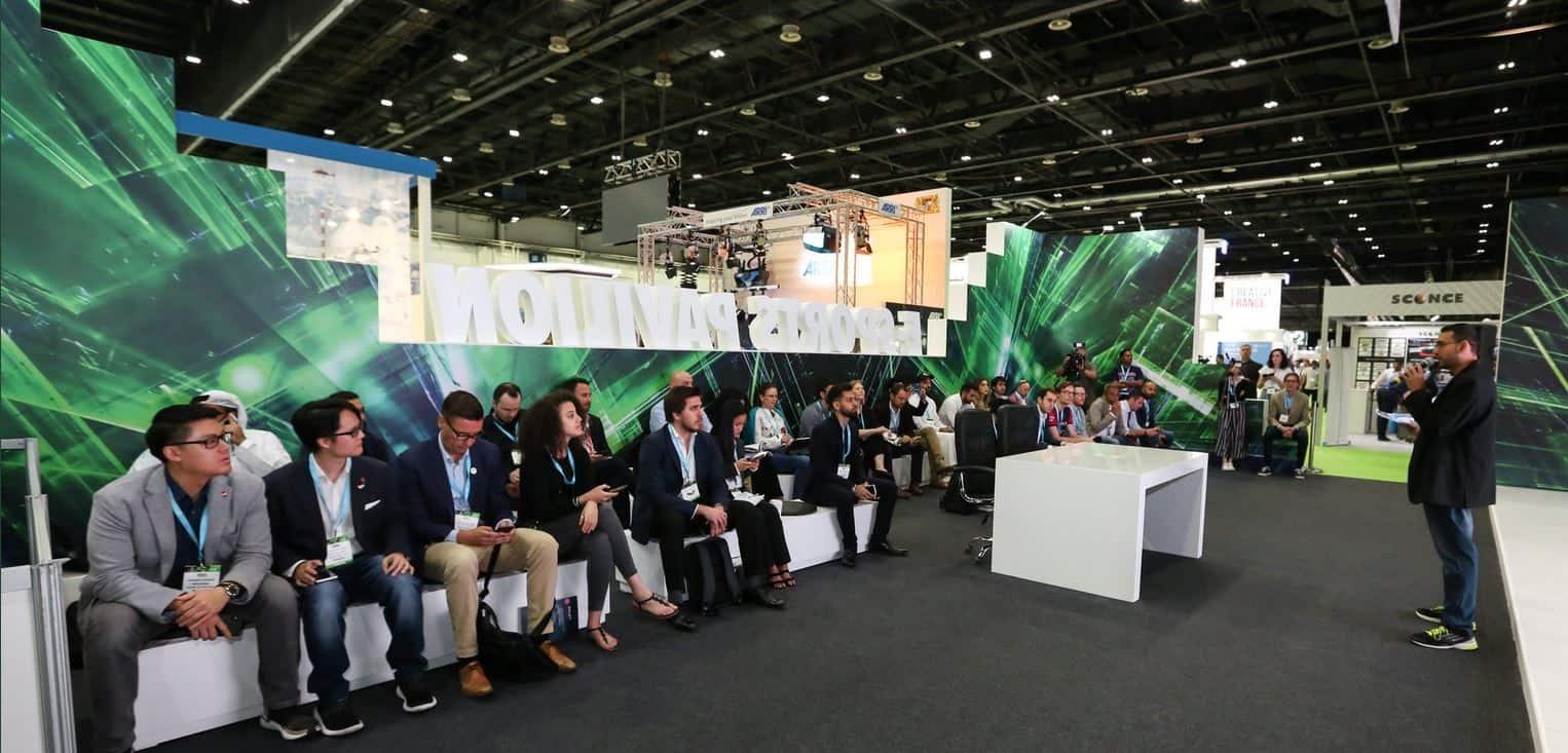 Capsat 2019 esports pavilion مؤتمر الرياضات الإلكترونية الأول كبسات
