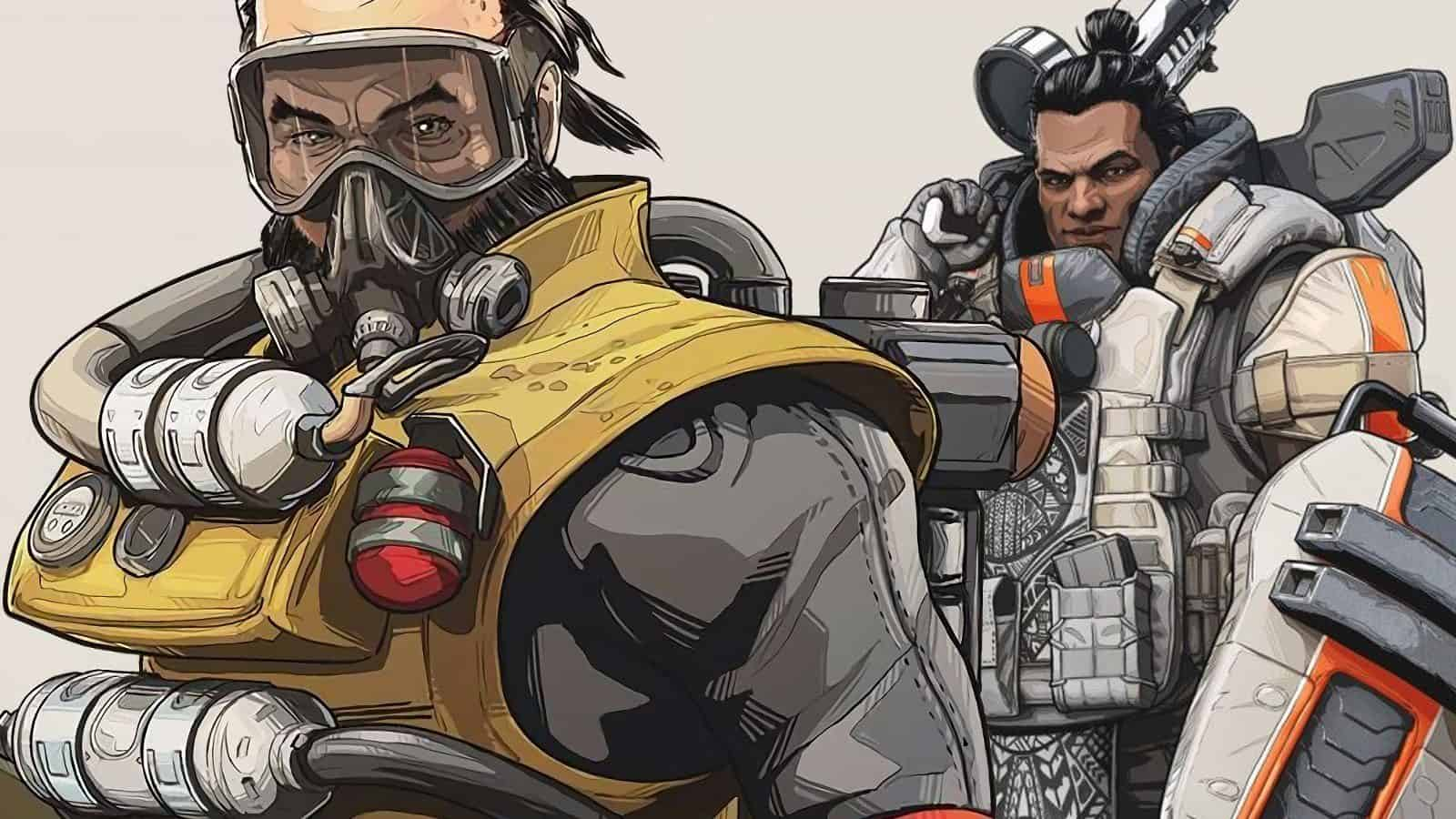 تحديث ابيكس ليجندز 1.1 caustic-gibraltar buff apex legends update