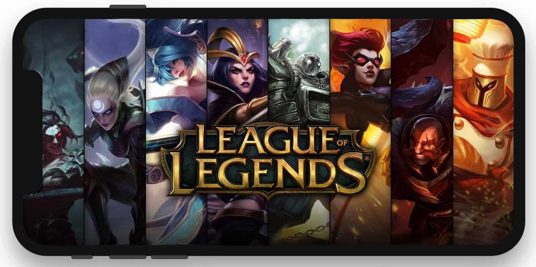 موبال رياضات الكترونية ليغ league of legends mobile riot games tencent