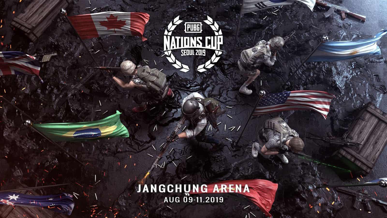 بطولة العالم ببجي نيشنز كب رياضة الكترونية PUBG-Nations-Cup-2019