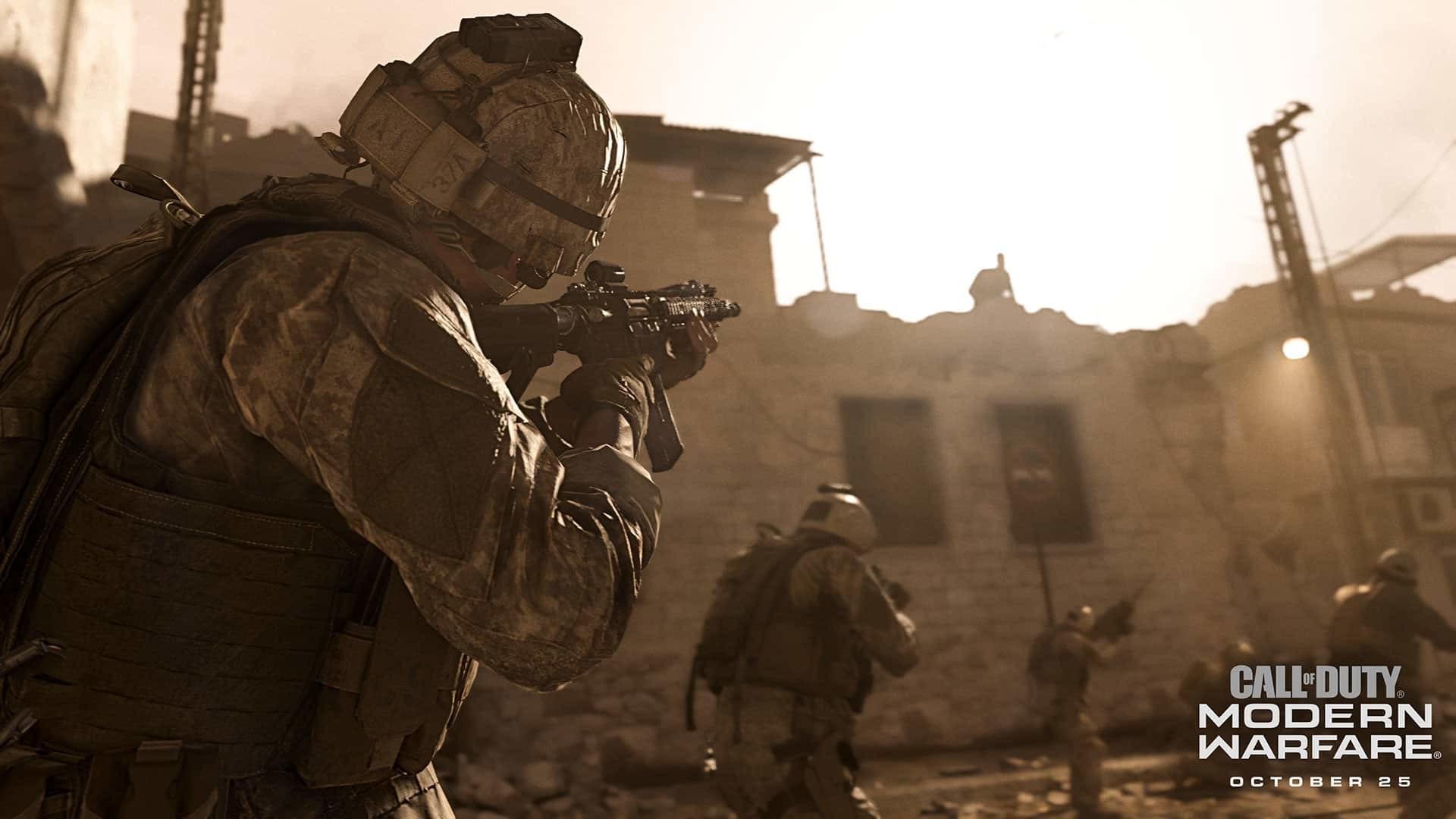 عرض كول اوف ديوتي مودرن وورفير الجماعي call of duty modern warfare multiplayer reveal open beta