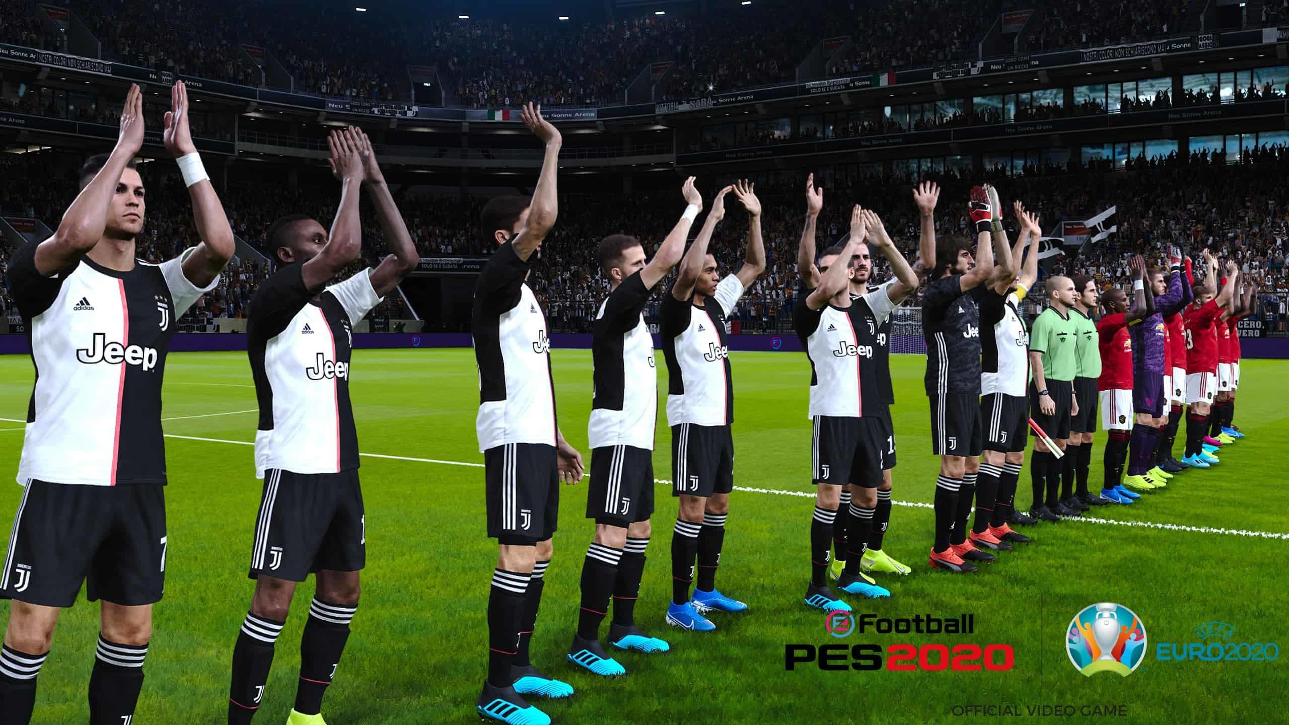 ايفوتبول بيس 2020 صفقة يورو دوري ايطالي رياضات الكترونية efootball pes 2020 uefa euro 2020 dlc serie a license deal