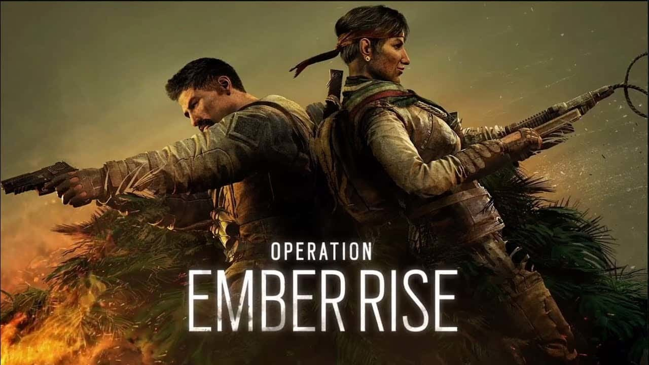 اوبريشن رينبو سكس الجديد رياضة الكترونية operation ember rise rainbow six siege new operators kanal rework battle pass