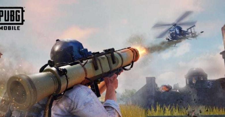 تحديث ببجي موبايل صواريخ هيلوكبتر pubg mobile rocket launcher helicopter new update 15