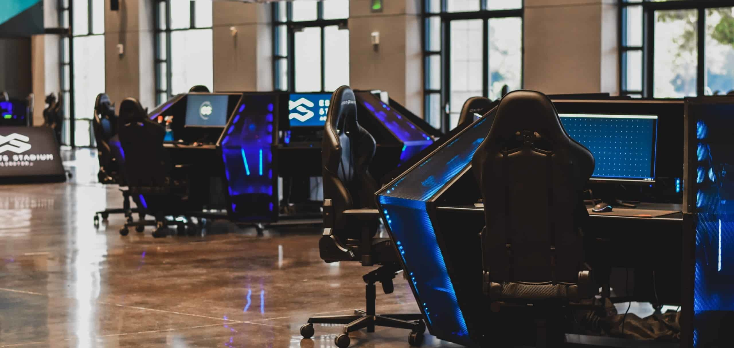 مركز تدريب رياضات الكترونية 13 مليون tsm training center gaming esports pc lenovo la