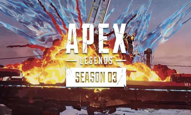 تحديث ابيكس ليجندز موسم ثالث تغييرات شخصية خريطة جديدة ألعاب الفيديو رياضة الكترونية Apex-Legends-Season-3-Meltdown-new changes crypto worlds edge