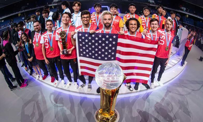 فوز أميركا كأس عالم أوفرواتش رياضة الكترونية Team USA Overwatch world cup 2019