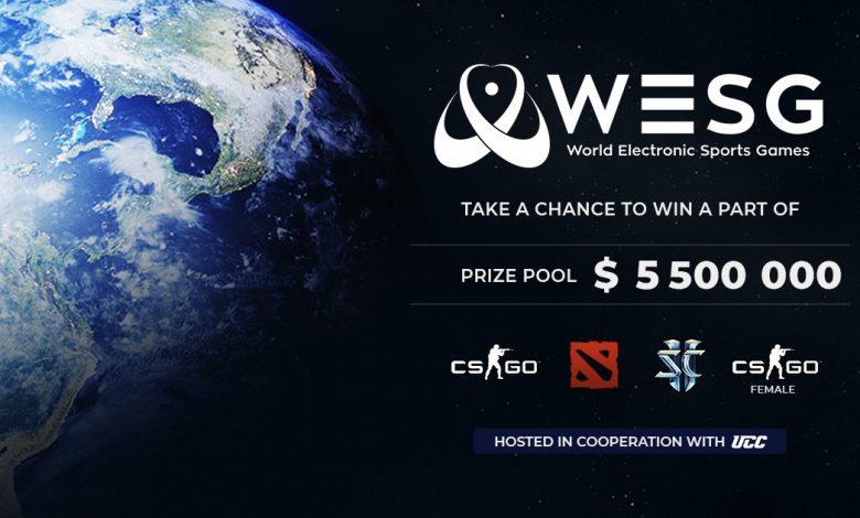 بطولة وورلد لكترونيك سبورتس غيمز رياضة الكترونية WESG world electronic sports games 2019 csgo dota starcraft esports