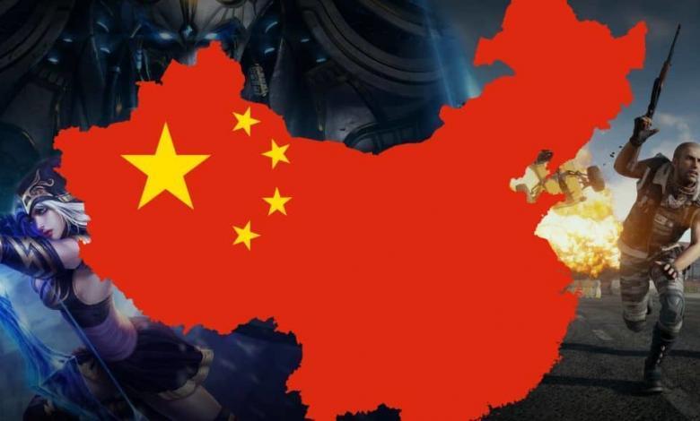 حظر ألعاب الفيديو الصين الأونلاين رياضة الكترونية china game ban pubg mobile online games