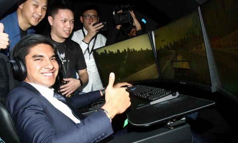 الوزير الماليزي سيد صادق الرياضات الإلكترونية syed saddiq esports malaysia minister future competitive gaming
