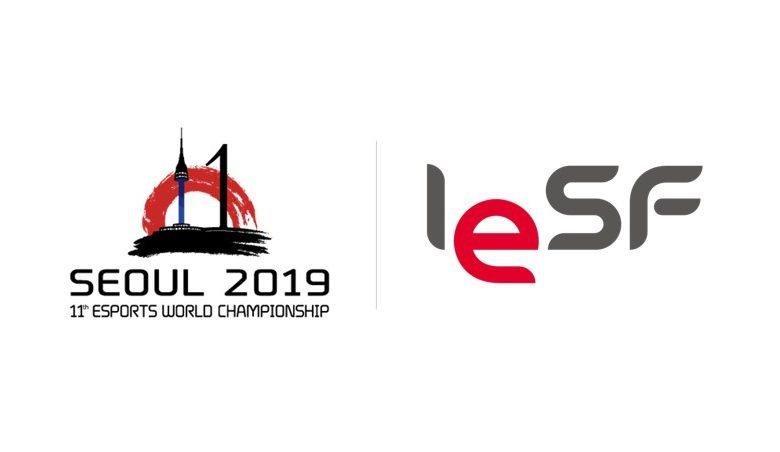 بطولة العالم سول كوريا الرياضات الإلكترونية IESF WC 2019 seoul esports world championship