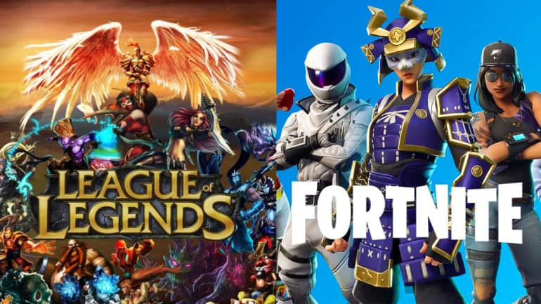 فورتنايت ليج اوف ليجندز أفضل ألعاب 2019 رياضة الكترونية League of Legends fortnite twitch time magazine top games 2019