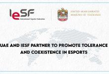 Photo of تعاون ما بين IESF ووزارة التسامح والتعايش الإماراتية يسعى لنشر ثقافة تقبل الآخرين في الرياضات الإلكترونية