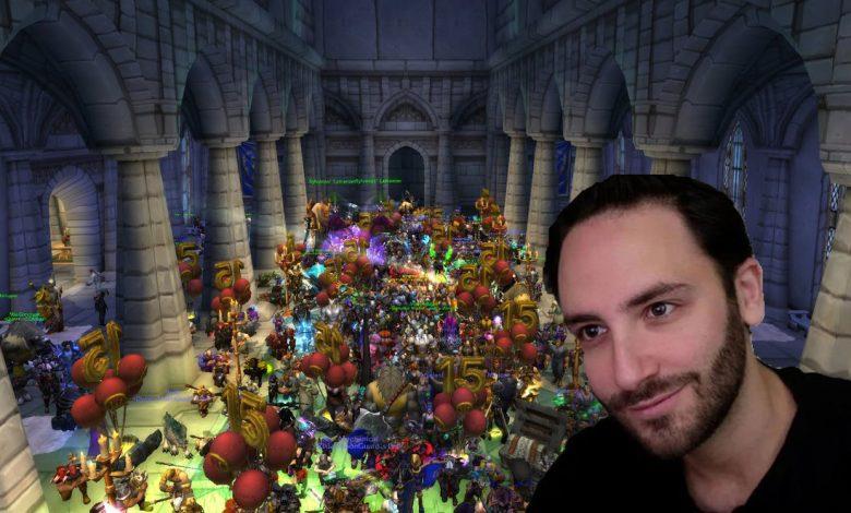 world of warcraft ceremony tribute reckful death suicide esports wow رياضات الكترونية انتحار لاعب فيديو ريكفول