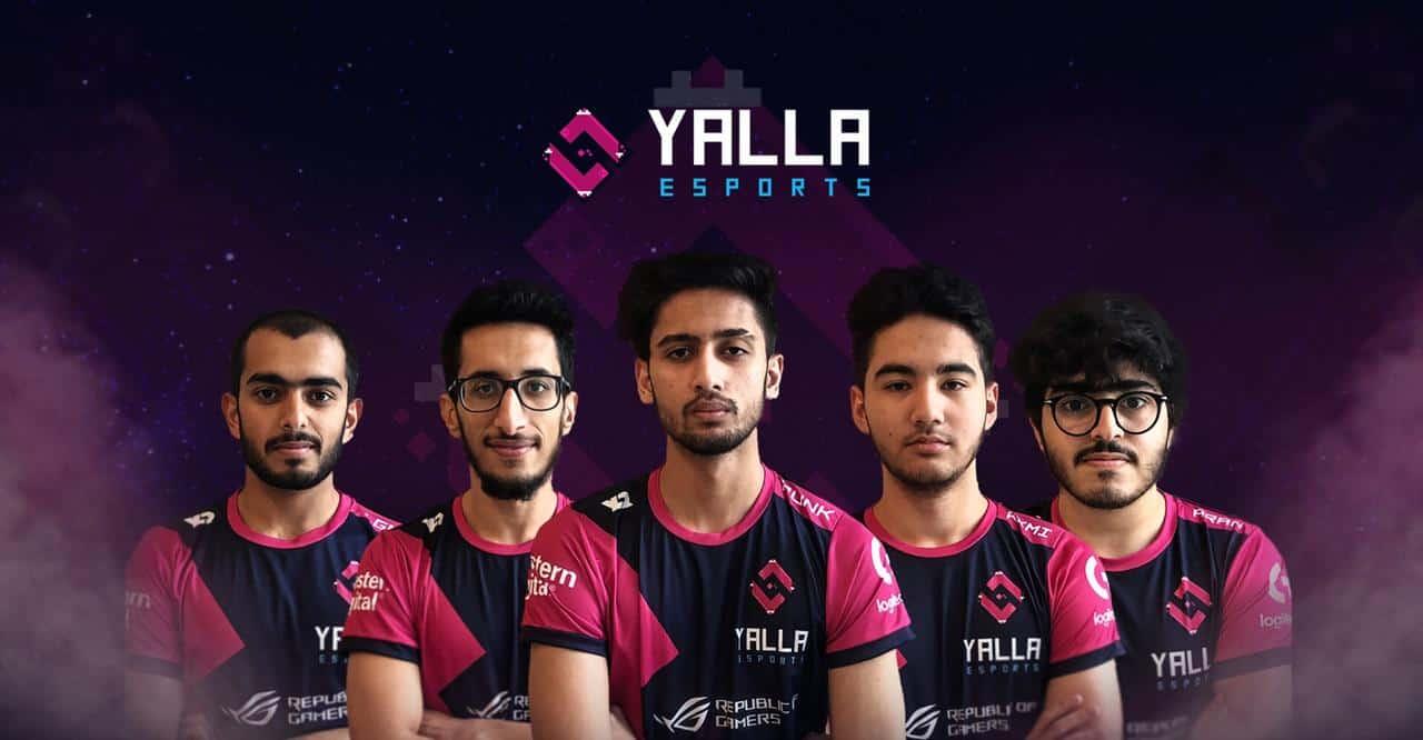 Photo of فريق YaLLa Esports يتلقى استثمارات ليعزز نموه في الشرق الأوسط وأفريقيا