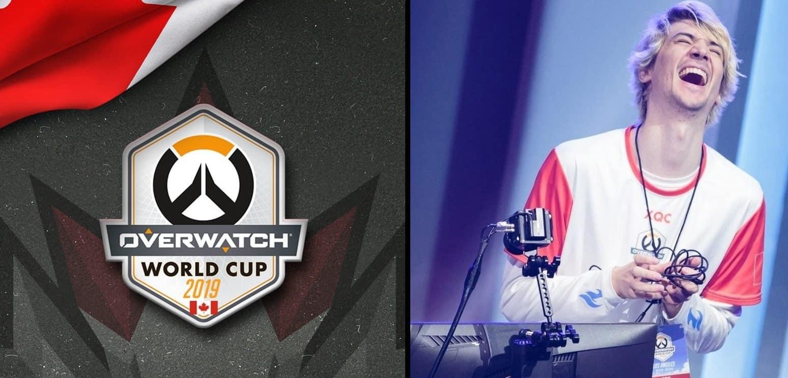 مشاركة xqc المنتخب الكندي كأس عالم اوفرواتش xQc-Canada-Overwatch-World-CUp-2019