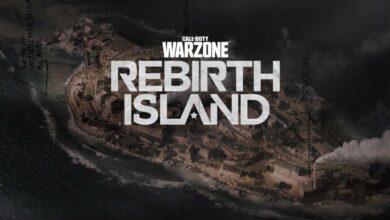 كود وارزون call of duty warzone rebirth island