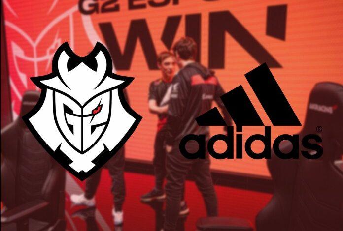 شراكة ضخمة بين فريق G2 Esports وشركة Adidas