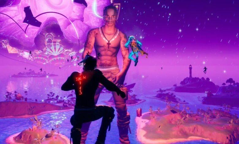 ألعاب الفيديو موسيقى فورتنايت ترافس سكوت music gaming