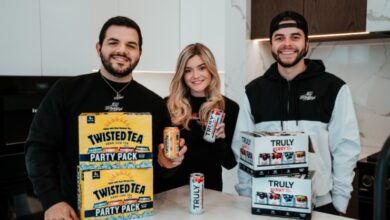 100 Thieves - Truly Hard Seltzer - Twisted Tea Hard Iced Tea partnerships