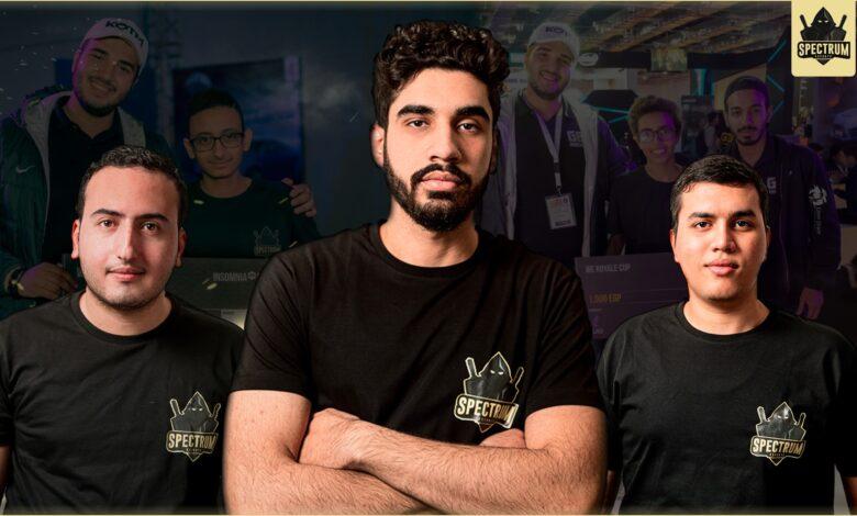 مقابلة فريق spectrum esports ايسبورتس ميدل ايست esme رياضات الكترونية وطن عربي