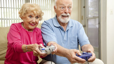 Esports health benefits elders video games esports middle east فوائد الرياضات الالكترونية الصحية دراسات ابحاث ايسبورتس ميدل ايست