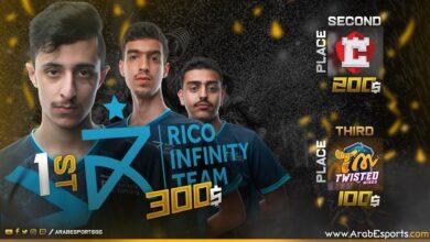 Arab esports pubg mobile rico infinity team cryptics twisted minds esports middle east الرياضات الالكترونية الشرق الاوسط عرب
