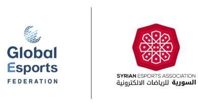 sesa syria full member gef certificate اعتراف global esports federation سوريا sesa